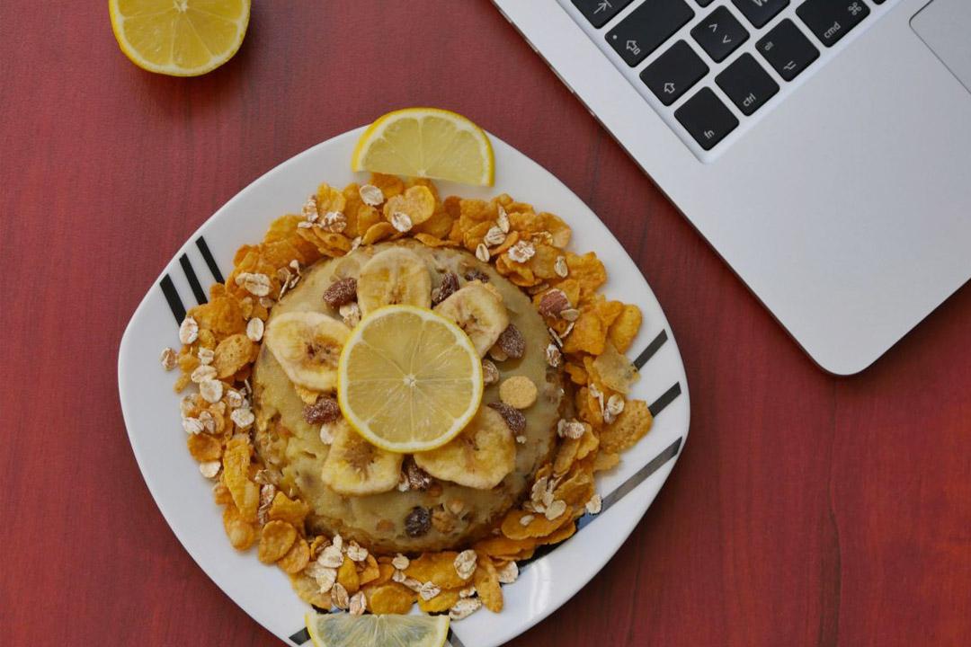 Recette | Bowl Cake Banane & Muesli