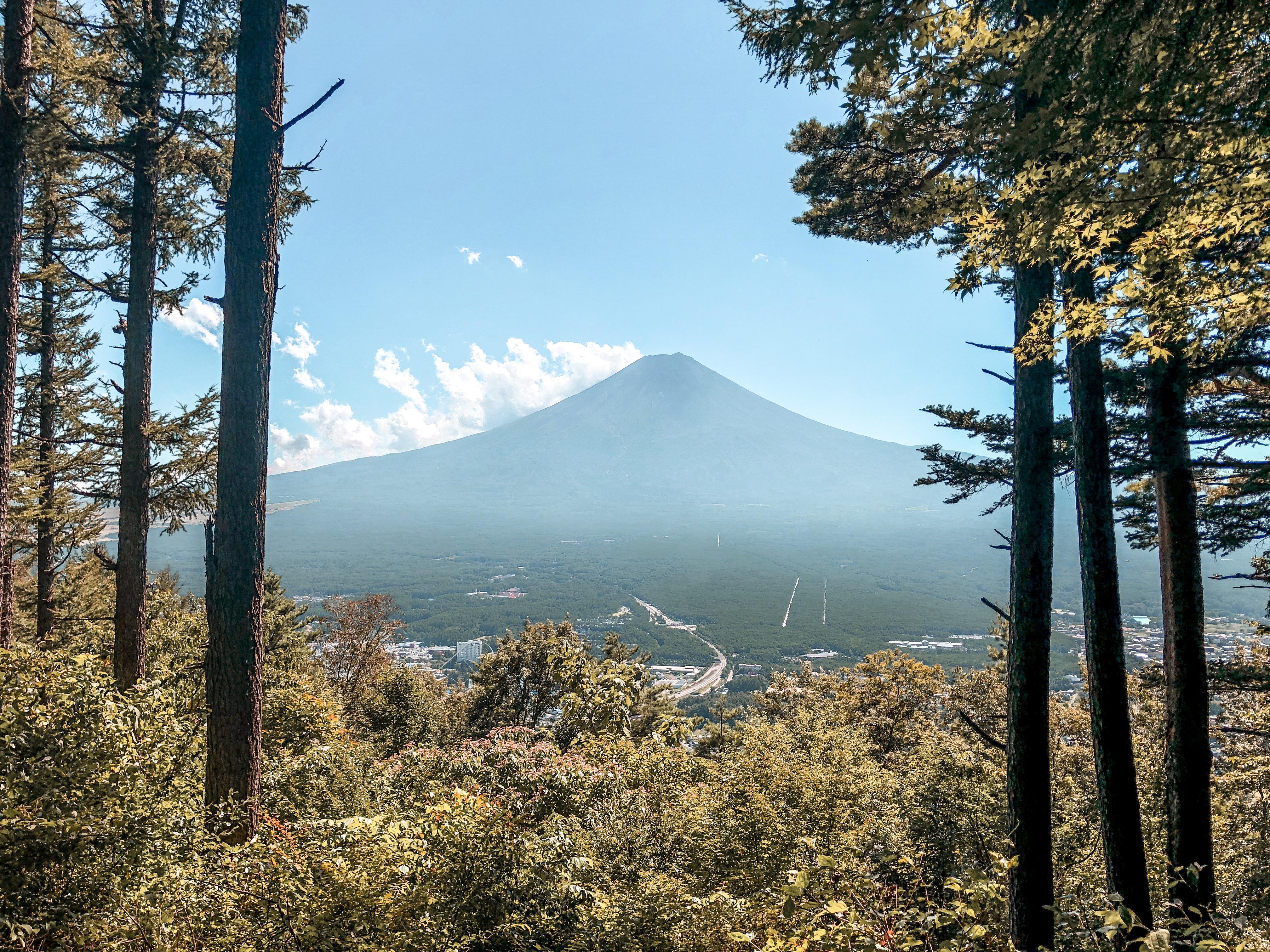 Week-end au pied du Mont Fuji